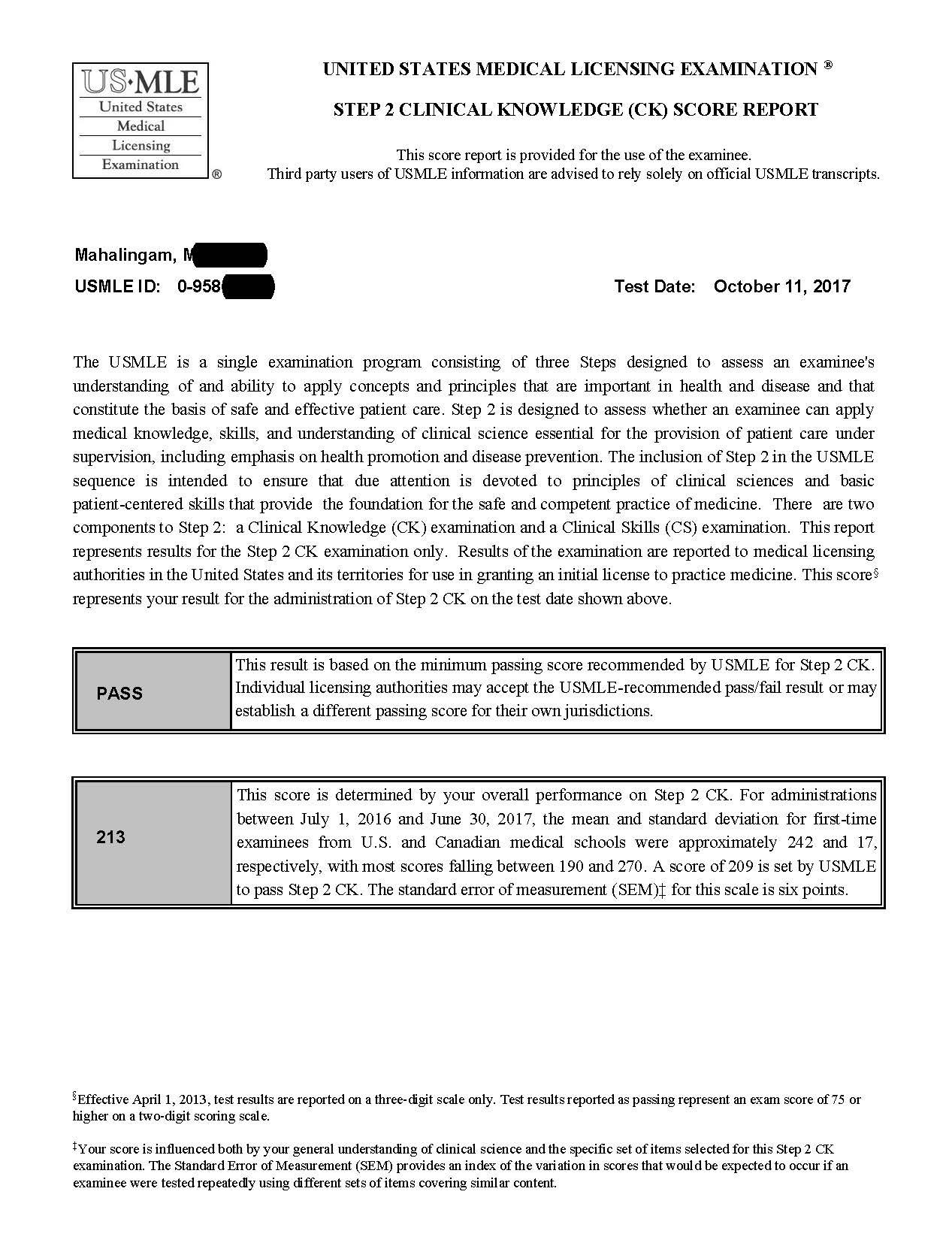 Step 2 Ck Score Release Reddit